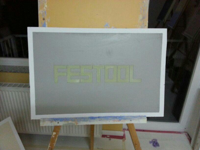 Lehmputz Festool Bild
